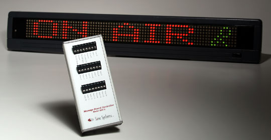 MBC-1 Message Board Controller and BetaBrite display
